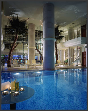 The phoenicia spa beirut thoroughly modern milly for Indoor swimming pool in lebanon