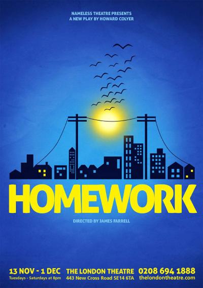THOROUGHLY MODERN MAN Homework London Theatre