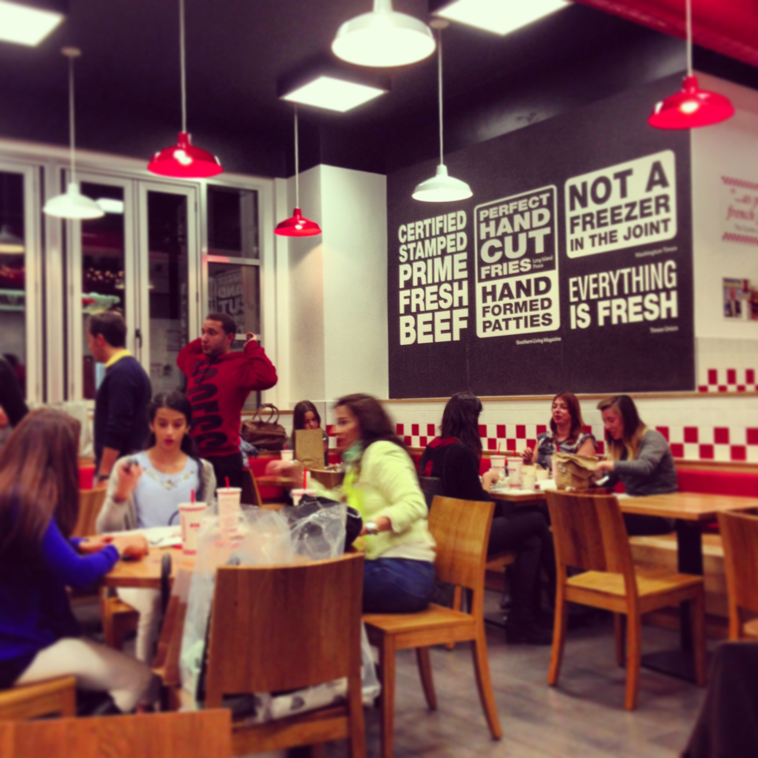 I Had High Hopes For Five Guys, The Second Of The American Burger Newcomers  To Covent Garden. I Tried The Other US Establishment, Shake Shack Months  Earlier ...