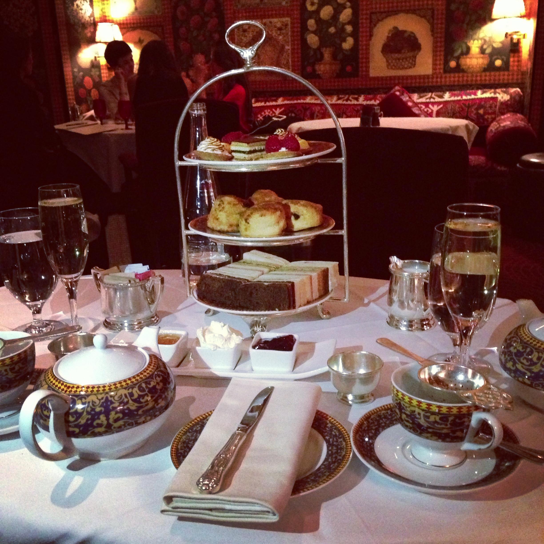 York Hotel Afternoon Tea