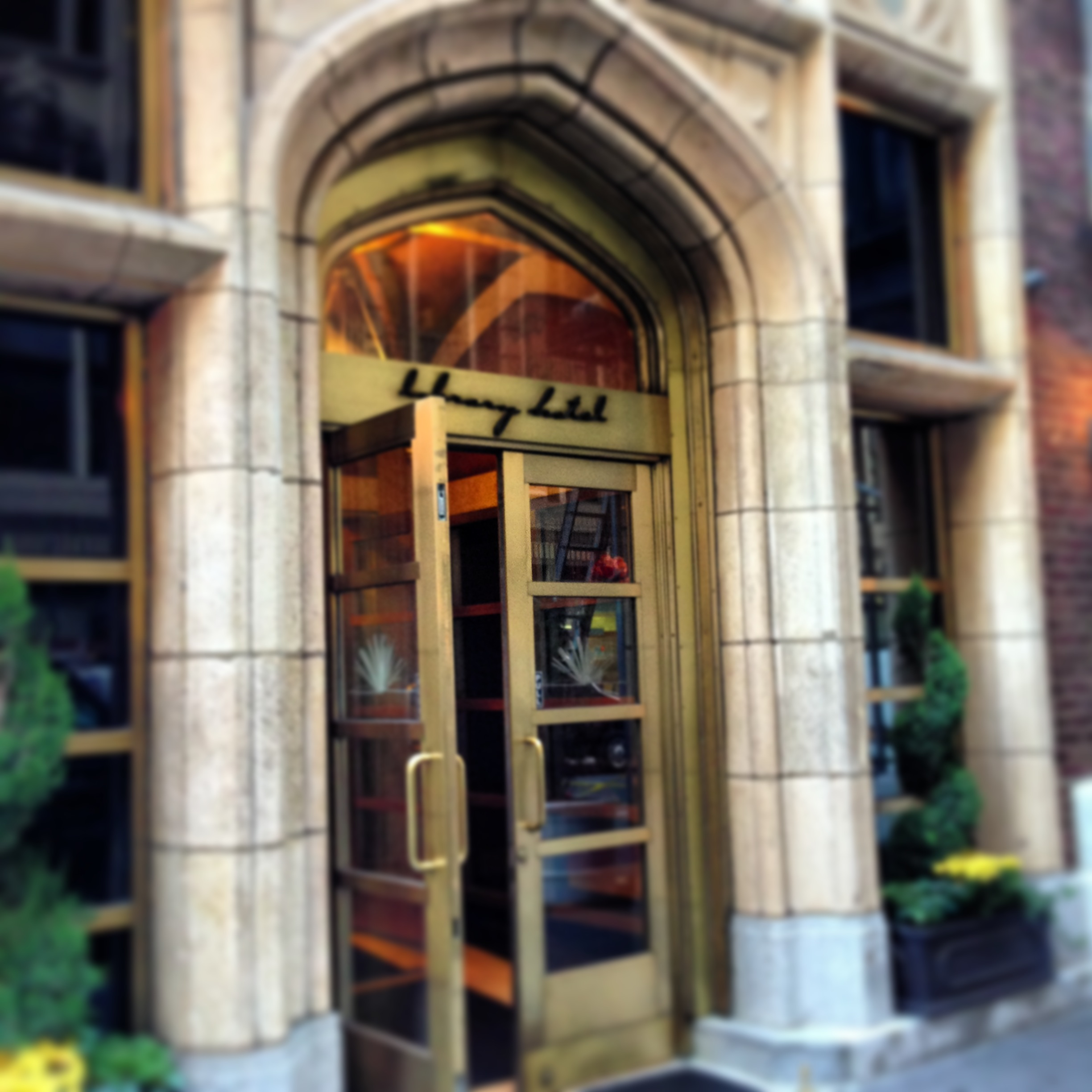 The Library Hotel Collection Features Four Characterful Hotels In Manhattan.  Last Year I Was Lucky To Visit Giraffe, Elysee And Casablanca, And On This  Trip ...