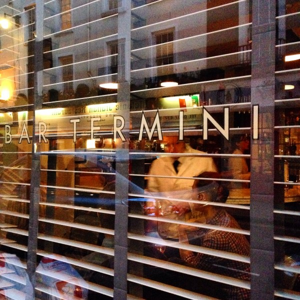 Bar Termini London's most romantic cafes
