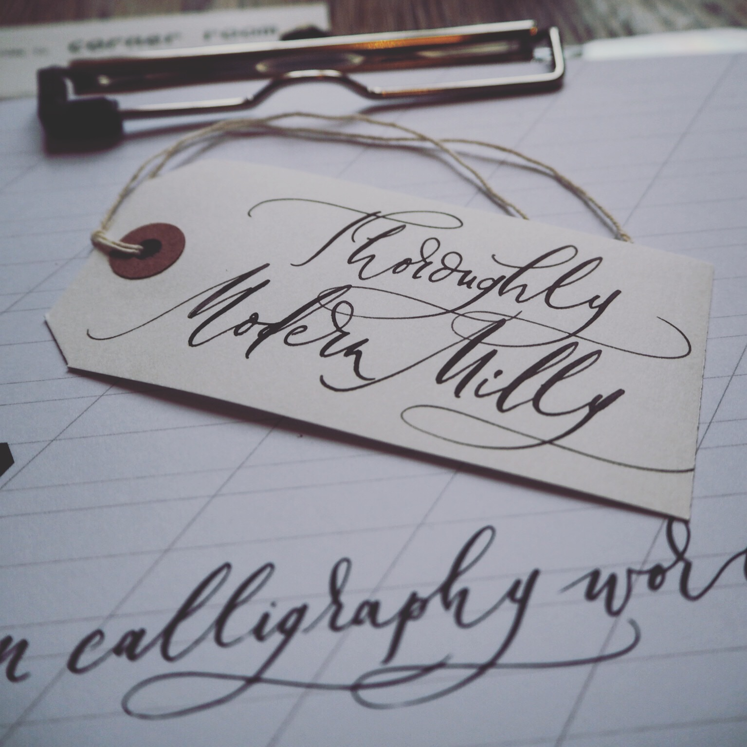 Modern calligraphy workshop thoroughly milly