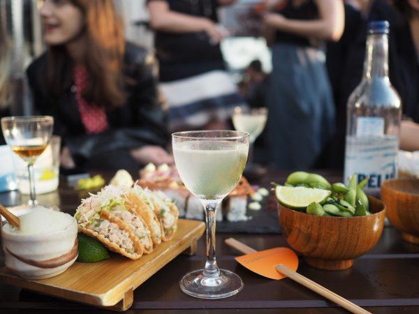 cocktails at sushisamba