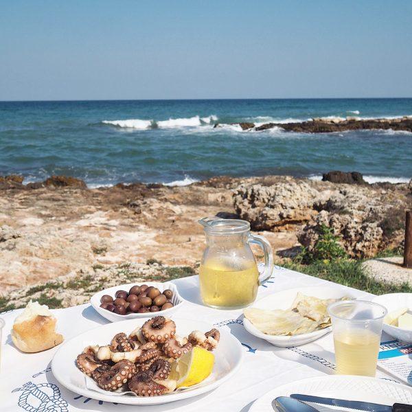 Puglia seafood