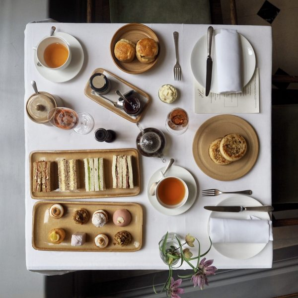 Afternoon tea at Thomas' Cafe